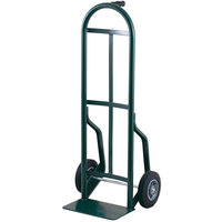 Harper 54T60 Continuous Single Pin Handle 600 lb. Steel Hand Truck with 10 inch x 2 1/2 inch Solid Rubber Wheels