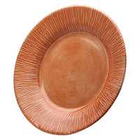 Elite Global Solutions D10TE Beach Bums Sunburn Terra Cotta 10 inch Round Melamine Plate