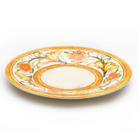 Elite Global Solutions D12P Tuscany 12 1/4 inch Design Melamine Plate