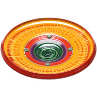 Elite Global Solutions V183 Hot Cha-Cha Design 18 3/4 inch Round Platter