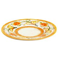 Elite Global Solutions D11P Tuscany 11 1/4 inch Design Melamine Plate