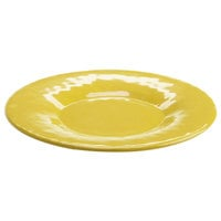 Elite Global Solutions D10P Tuscany 10 1/4 inch Mustard Yellow Melamine Plate