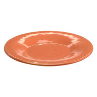 Elite Global Solutions D7P Tuscany 7 1/2 inch Sunburn Terra Cotta Melamine Plate