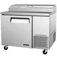 Turbo Air TPR-44SD 44 inch One Door Pizza Prep Table