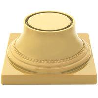 Elite Global Solutions M74P Symmetry Banana Crepe 3 3/4 inch Pedestal Base