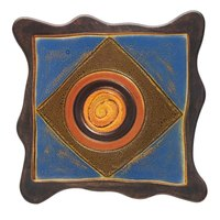 Elite Global Solutions V10511 Artist 11 inch Square Melamine Platter