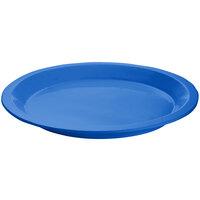 Tablecraft CW3325BL Cobalt Blue Cast Aluminum Round Dessert Plate