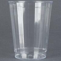 Fineline Renaissance 2410-CL 10 oz. Clear Hard Plastic Crystal Tumbler - 20 / Pack