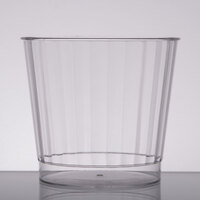 Fineline Renaissance 2409-CL 9 oz. Clear Hard Plastic Crystal Tumbler - 240/Case