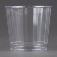 Fineline Renaissance 2409-CL 9 oz. Clear Hard Plastic Crystal Tumbler - 240 / Case