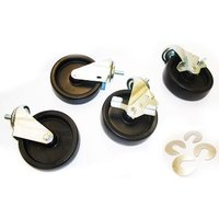 True 830282 5 inch Swivel Stem Casters - 4/Set