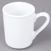 Tuxton ALM-085 Alaska 8.5 oz. Bright White China Mug - 36 / Case