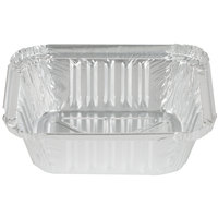 Durable Packaging 220-30-1000 1 lb. Oblong Foil Pan - 1000 / Case