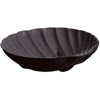 Tablecraft CW17025MIS D 6 Gallon Midnight Speckle Cast Aluminum Large Shell Bowl