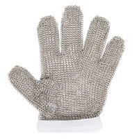 Victorinox 81502 saf-T-gard White Cut Resistant Stainless Steel Mesh Glove - Small