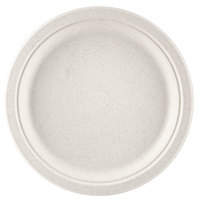 Green Wave Ovation Sugarcane / Bagasse OV-P010 10 inch Premium Biodegradable and Compostable Plate - 125 / Pack