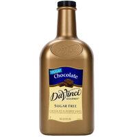 DaVinci Gourmet 1/2 Gallon Sugar Free Chocolate Flavoring Sauce
