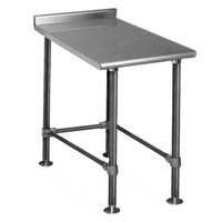 Eagle Group UT3618STEB 18 inch x 36 inch Equipment Filler Table