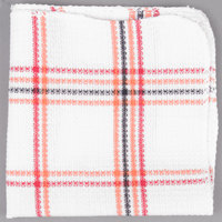 Chef Revival 706DC 13 inch x 15 inch Striped Waffle-Weave 100% Cotton Dish Cloth - 12/Pack