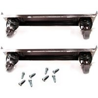 True 872064 4 inch Casters with Frames - 4/Set
