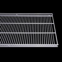 True 908738 White Coated Wire Shelf with Shelf Clips - 67 3/4 inch x 17 1/2 inch