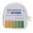 Hydrion S/R pH Test Paper Dispenser - Level 3-5.5