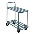 Two Shelf Solid Metal Bussing / Utility / Transport Carts