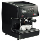 Nuova Simonelli MOP140D204-BLACK PODS Black Oscar Professional Espresso Machine for Pods - Direct Connection, 110V