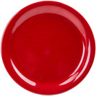 GET NP-7-RSP Red Sensation 7 1/4 inch Narrow Rim Plate - 48 / Case