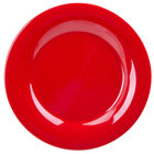 GET WP-10-RSP Red Sensation 10 1/2 inch Wide Rim Plate - 12/Case
