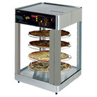 Star HFD2APTCR 21 1/8 inch Pass-Through Humidified Pizza Display Case with Three 16 inch Pizza Racks