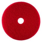 Scrubble by ACS 51-6 1/2 Type 55 6 1/2 inch Red Buffing Floor Pad - Type 55 - 10/Case