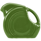 Homer Laughlin 475324 Fiesta Shamrock 4.75 oz. Mini Disc Creamer Pitcher - 4/Case