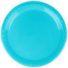 Creative Converting 28103911 7 inch Bermuda Blue Plastic Plate - 240/Case