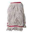 24 oz. Loop End Natural Cotton Mop Head with 1 1/4