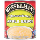Musselman's Natural Unsweetened Apple Sauce 6 - #10 Cans / Case