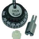 All Points 22-1028 2 inch Oven BJ Thermostat Dial (Off, Low, 250-550, Broil)