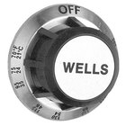 All Points 22-1253 2 3/8 inch Warmer Dial (Off, 70-205)