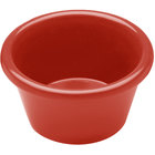 Elite Global Solutions R3SM Rio Spring Coral 3 oz. Melamine Ramekin