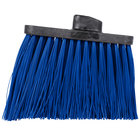 Carlisle 3686814 Duo-Sweep Heavy Duty Angled Broom Head with Unflagged Blue Bristles
