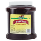 Fox's Cherry Ice Cream Topping   - 6/Case