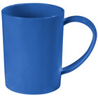 Carlisle 4306614 8 oz. Stackable Ocean Blue Tritan Mug - 12 / Case