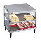 Hatco GRPWS-3624D Glo-Ray 36 inch Double Shelf Pizza Warmer - 1800W