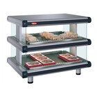 Hatco GR2SDH-42D Glo-Ray Designer 42 inch Horizontal Double Shelf Merchandiser