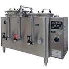 Grindmaster 77710(E) Twin 10 Gallon Automatic Mid Line Coffee Urn - 120/208V