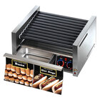 Star 14SCBBC Grill Max 14 Hot Dog Roller Grill with Duratec Non-Stick Rollers and Bun Drawer