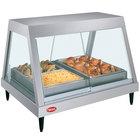 Hatco GRHD-2P Stainless Steel Glo-Ray 32 1/2 inch Full Service Single Shelf Merchandiser