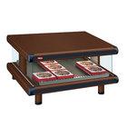 Hatco GR2SDS-36 Antique Copper Glo-Ray Designer 36 inch Slanted Single Shelf Merchandiser - 120V