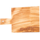 American Metalcraft OWB149 14 inch x 9 inch Olive Wood Serving Board