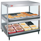 Hatco GRSDS/H-41DHW Glo-Ray 41 inch High Wattage Horizontal / Slanted Double Shelf Merchandiser